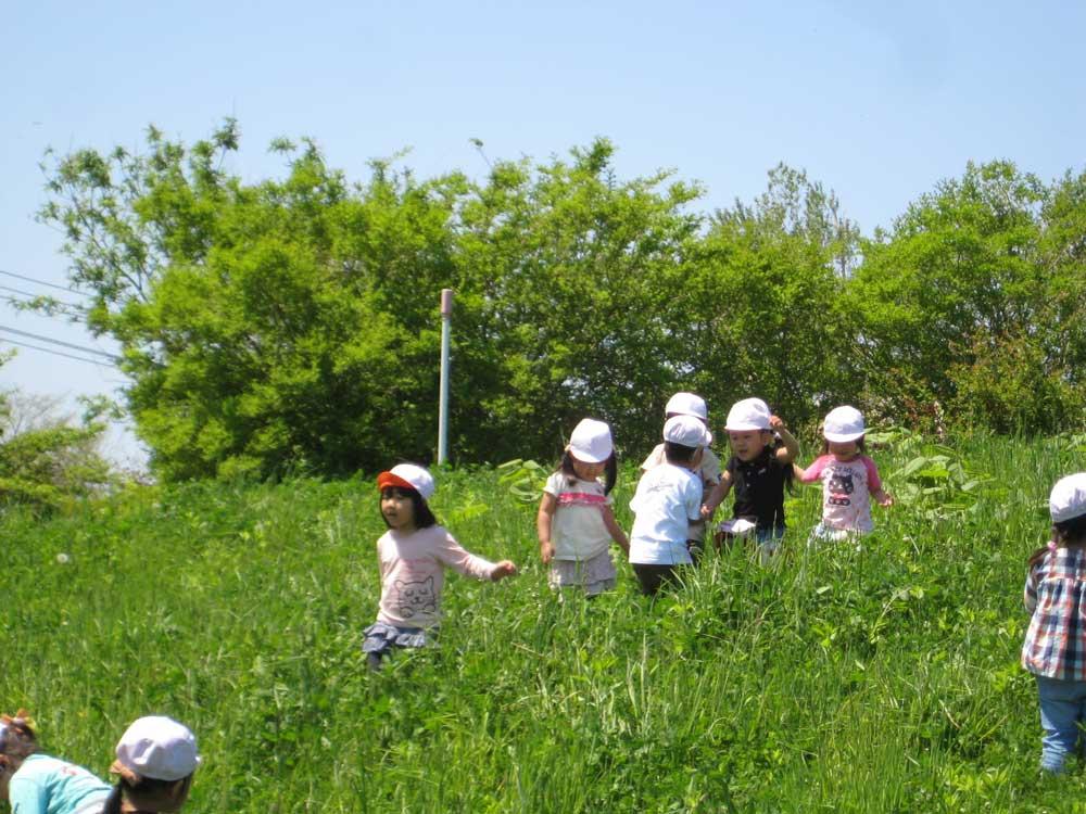 幼稚園 5月