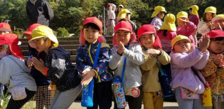 年中組お散歩 (10月15日)