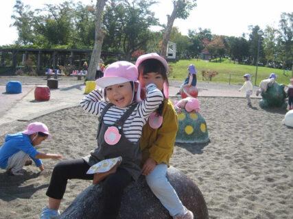 年少組館山公園へ 10月13日