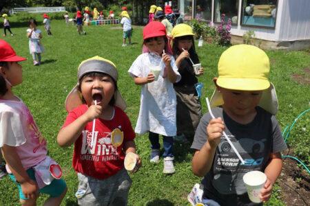 幼稚園 7月の写真を掲載しました。