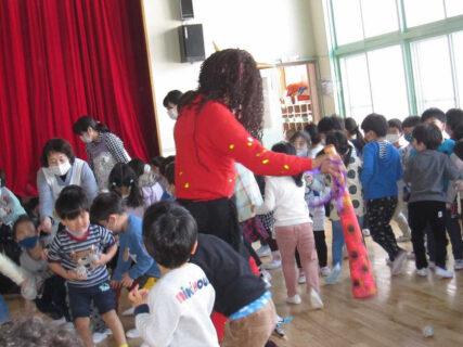 幼稚園に鬼がやってきました!(2月1日)