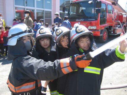 防火訓練がありました