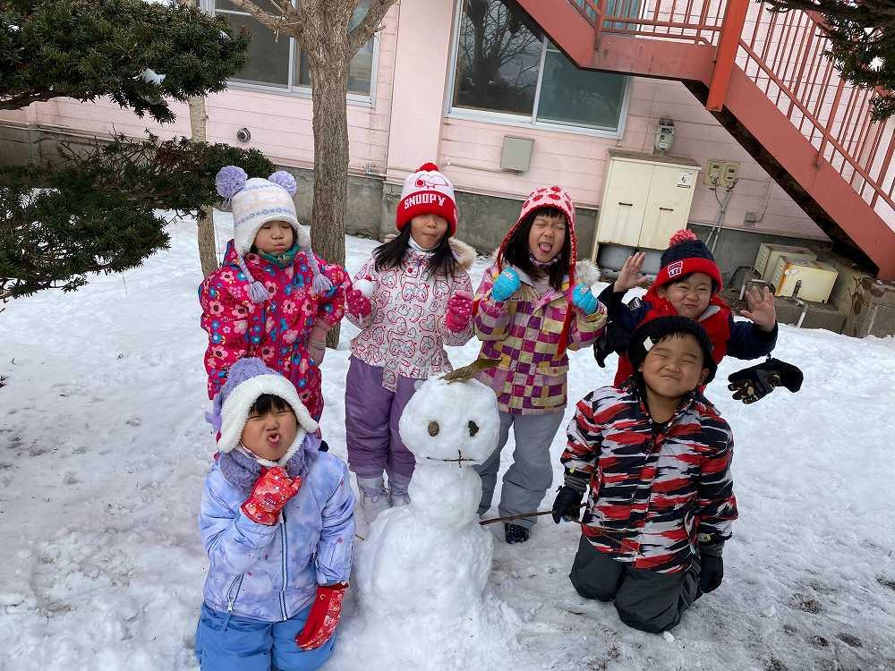 幼稚園1月